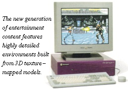 [New generation of game entertainment]