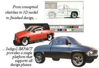 [IMPACT supports all design phases, from sketches and models to finished design]