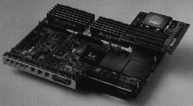 [A picture of the 150MHz R4400 CPU module]
